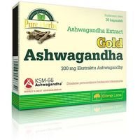 Witaminy i minerały, Olimp Ashwagandha Gold 30 kaps. Relaksuje Wzmacnia organizm 048852