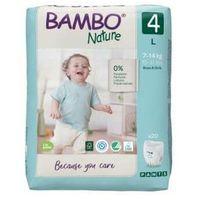 Pieluchy jednorazowe, Pieluchomajtki Bambo Nature 4 (L) 7-14kg, 20 szt.