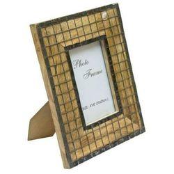 Drewniana ramka na zdjęcia - A-1638; format zdjęcia: 10x15cm