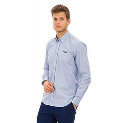 Galvanni koszula męska Auvergne L jasnoniebieska