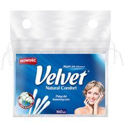 VELVET 160szt Natural Comfort Patyczki kosmetyczne