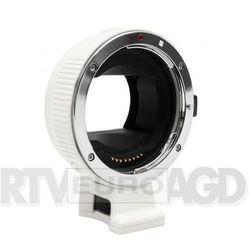 Commlite adapter bagnetowy CoMix CM-EF-NEX - Canon EF / Sony E biały