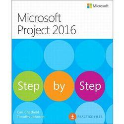 Microsoft Project 2016 Krok po kroku - Carl Chatfield, Timothy Johnson - ebook