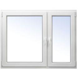 Okno PCV rozwierne + rozwierno-uchylne 1465 x 1135 mm prawe