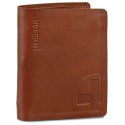 Duży Portfel Męski STRELLSON - Edwyn 4010000220 Cognac 703