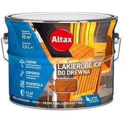 ALTAX- lakierobejca do drewna, tik, 2.5 l