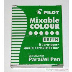 6 nabojów do pióra Parallel Pen Zielony
