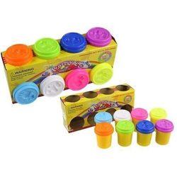 Ciastolina Zestaw 8 Kolorów z Foremkami Zwierzątka - Lean Toys