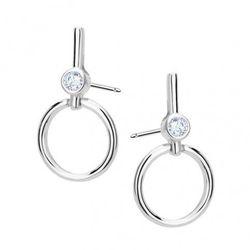 Biżuteria damska INFINITY ISKK0110 Kolczyki srebrne