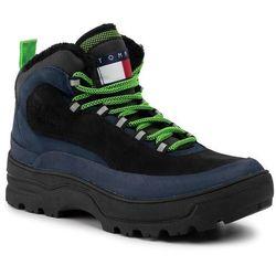 Trapery TOMMY JEANS - Hilfiger Expedition Boot EM0EM00378 Black Iris CBK