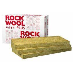 Wełna mineralna ROCKWOOL Rockmin Plus 60mm 0,037 elewacyjna dach podloga paczka