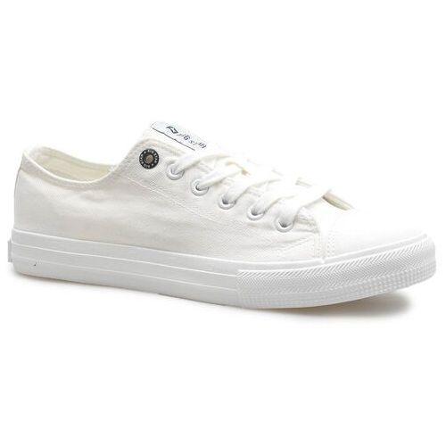Obuwie sportowe dla mężczyzn, Trampki Big Star FF174337 Białe