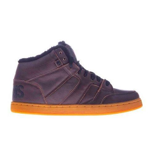 Męskie obuwie sportowe, buty OSIRIS - Convoy Mid Shr Brown/Black (559) rozmiar: 42