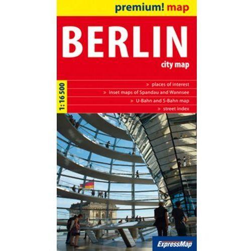 Mapy i atlasy turystyczne, Berlin City Map 1:16 500 (opr. kartonowa)