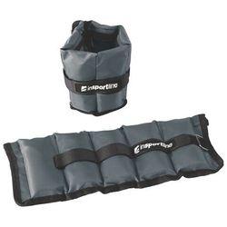 Regulowane obciążenie na kostki i nadgarstek inSPORTline GrayWeight 2x1 kg