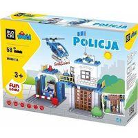 Klocki dla dzieci, Klocki Blocki Mubi Policja 58 el.