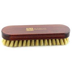 Margo, 2x szczotka do polerowania, 16,5 cm, 100% szczecina, drewno bukowe, mahoń