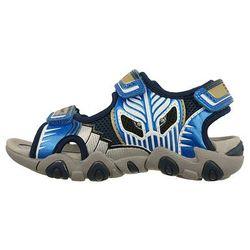 GEOX J7224B SAND.STRIKE B 00CE14 C0693 morski/ j.niebieski, rozmiary: 28-31, sandały dziecięce