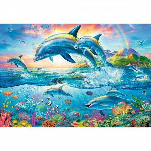 Puzzle, Puzzle 1500 Rodzina delfinów TREFL