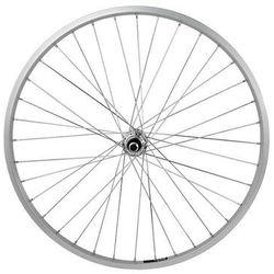 """Tylne koło aluminiowe srebrne 26"""" - piasta stalowa"""