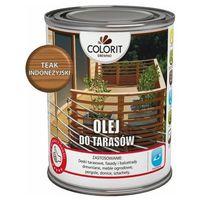 Podkłady i grunty, Olej do tarasów Colorit Drewno teak indonezyjski 0,75 l