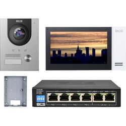 "Wideodomofonu IP BCS-PAN1701S-S + Monitor 7"" BCS-MON7400W-S Natynkowy"