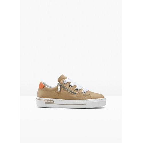 Damskie obuwie sportowe, Sneakersy na podeszwie platformie Rieker bonprix koniakowy