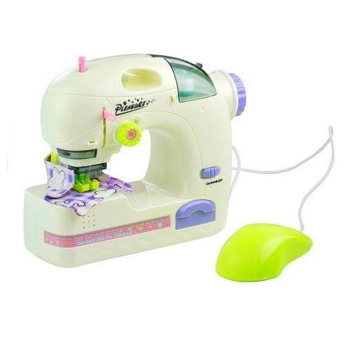 Maszyny do szycia dla dzieci, Maszyna do szycia ze światłami + nici - Lean Toys. DARMOWA DOSTAWA DO KIOSKU RUCHU OD 24,99ZŁ