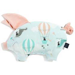 Podusia Sleepy Pig - Miss Cloudy - Powder Pink - La Millou - Velvet Collection