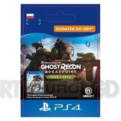 Tom Clancy's Ghost Recon Breakpoint - Year 1 Pass [kod aktywacyjny] PS4