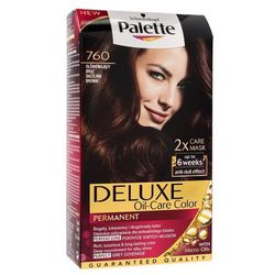 Palette Deluxe Farba do włosów Złota Mokka Olśniewający Brąz nr 760 1 op. - Schwarzkopf