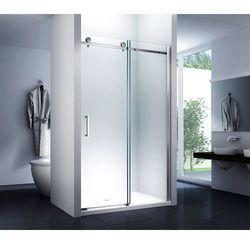 Drzwi prysznicowe, wnękowe rozsuwane Nixon Rea 130 CM Prawe
