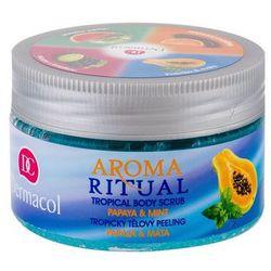 Dermacol Aroma Ritual Papaya & Mint peeling do ciała 200 g dla kobiet
