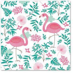 POL-MAK Serwetki 33 x 33 cm, 20 sztuk, Flamingi (SDOG 013301) Darmowy odbiór w 21 miastach!