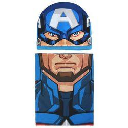 Komplet: czapka jesienna / zimowa i komin Avengers