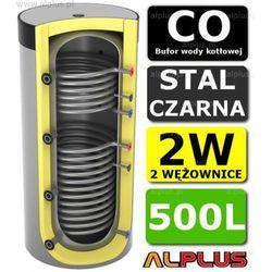 Bufor LEMET 500L do CO z 2 Wężownicami - Zbiornik Buforowy Zasobnik Akumulacyjny 500 litrów - Wysyłka Gratis