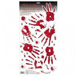 Dekoracja na ścianę Krwawe dłonie
