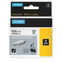 Dymo taśma do drukarek etykiet 18051, S0718260, czarny druk/biały podkład, 1,5m, 6mm