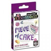 Gry dla dzieci, Kieszonkowiec Angielski. Piece of Cake. Quiz Karciany