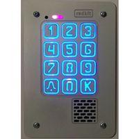 Domofony i wideodomofony, Panel cyfrowy domofonu jednorodzinnego z szyfratorem RADBIT KEC-1P GD36 PT MINI