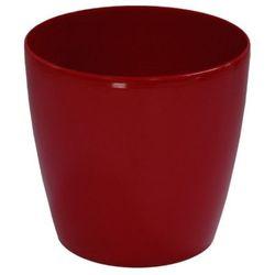 Doniczki ozdobne-plastikowe Lobelia Classic rozm. 20 czerwona