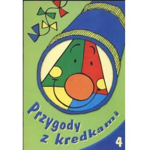 Książki dla dzieci, Przygody z kredkami 4. (opr. miękka)