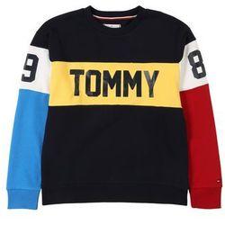 TOMMY HILFIGER Bluza 'U COLORBLOCK SWEATSHIRT' czarny