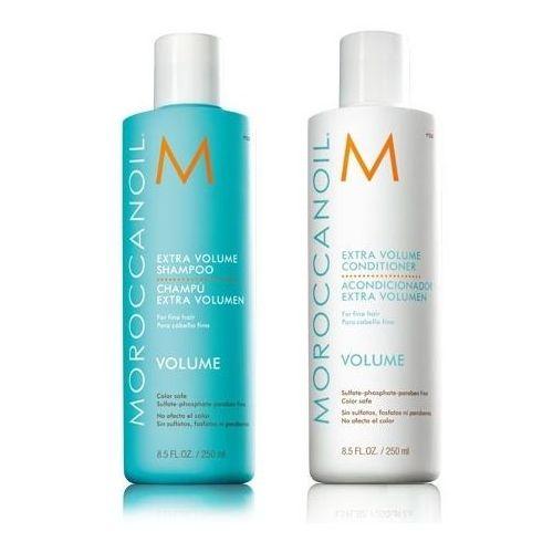 Mycie włosów, MoroccanOil Extra Volume   Zestaw zwiększający objętość włosów: szampon 250ml + odżywka 250ml