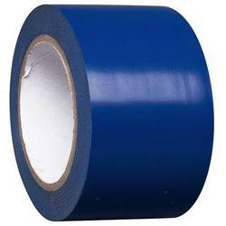 Taśma do znakowania podłoża z winylu, jednokolorowa, szer. 75 mm, niebieska, opa