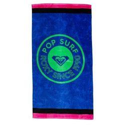 ręcznik ROXY - Perfect Inspiration Princess Blue Texture Flower (XWBB)