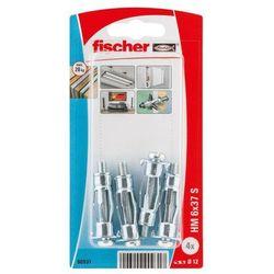 Kołki do g-k Fischer stalowe HM 6 x 37 mm 4 szt.