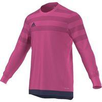 Odzież do sportów drużynowych, BLUZA BRAMKARSKA adidas ENTRY 15 GK różowa JUNIOR /M62779