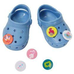 Niebieskie Crocsy z przypinkami Baby Born 822067