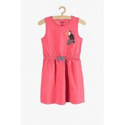 Sukienka dziewczęca różowa 3K3827 Oferta ważna tylko do 2023-06-02